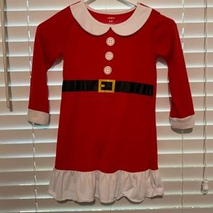 Carter's Santa Dress Girls 4/5